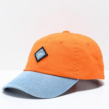 JHF LEGACY DAD HAT PEACH/DENIM