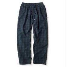 INTERBREED PATTERNED PAJAMA PANTS BLACK WATCH