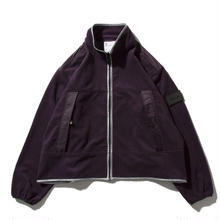 DEMARCOLAB ZIP FLEECE JKT-Purple