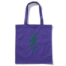CARROTS TOTE BAG PURPLE