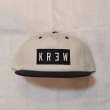 KR3W FLAT LOCKER SNAP     offwhite/black