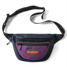 BUTTER GOODS  HIP PACK NAVY/PURPLE
