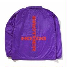 BROTHER HOOD CULT COACH JACKET PURPLE