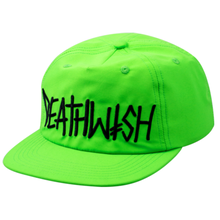 DEATH WISH SNAPBACK DEATH SPRAY  NEON GREEN