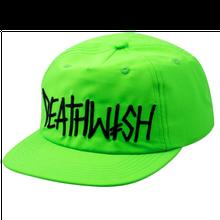 DEATH WISH SNAPBACK DEATH SPRAY  NEON GREEN