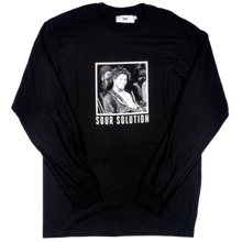 SOUR SOLUTION PRU SKATER L/S TEE  BLACK