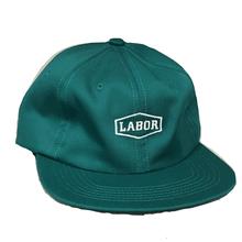 LABOR CREST LOGO CLOSURE CAP    LINCOLN GREEN