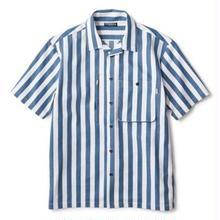 INTERBREED PATTERNED PAJAMA SHIRT STRIPE
