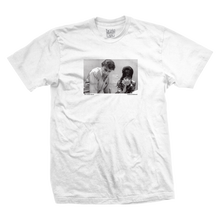 DEATH WISH  ACCODELADES    TEE       WHITE
