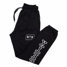 STREET X    COLLEGE SWEATPANT     BLACK