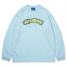 ALLGOODTHINGZ DASHBOARD L/S TEE-BABY BLUE