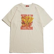 HELLRAZOR RETURN OF THE HELLRAZOR TEE  CREAM