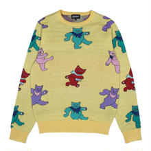 RIPNDIP DANCING NERM KNIT SWEATER     BANANA