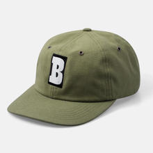 BAKER SKATEBOARDS SNAPBACK CAPITAL B OLIVE