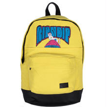 RIPNDIP PSYCHEDELIC BACKPACK    YELLOW