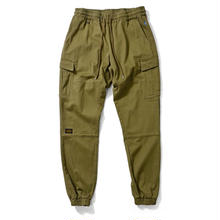 LAFAYETTE COTTON TACTICAL JOGGER PANTS M,GREEN