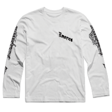 EMERICA DAGGER SLEEVES L/S TEE    WHITE