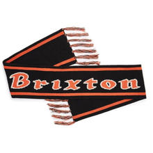 BRIXTON PROXY SCARF BLACK/ORANGE