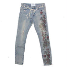 PROFOUND AESTHETIC PRINTED FLORAL JEANS
