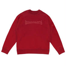 WASTED PARIS LONDON 450 PREMIUM CREW  RED