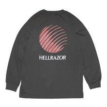 HELLRAZOR OPENING LOGO L/S TEE  BLACK