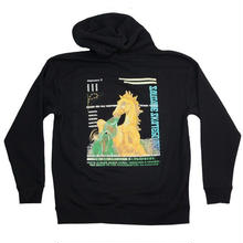 SAUSAGESKATEBOARDS  SUBPROJECT 8 HOODIE   BLACK