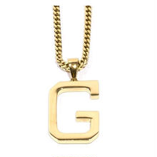 "GRIZZLY X GOLD GODS ""G"" CHAIN"