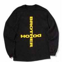 BROTHER HOOD CULT L/S TEE   BLACK