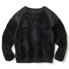 INTERBREED PATROL COMBAT FLEECE CREW   BLACK