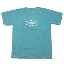 LABOR CREST LOGO S/S TEE    LINCOLN GREEN