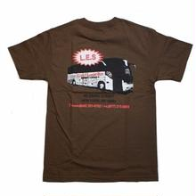 LABOR LUCKY LABOR TEE   BROWN