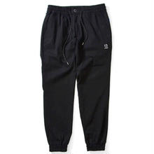 LAFAYETTE  COTTON STRETCH JOGGER PANT BLACK