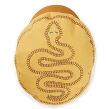BRIXTON FIDDLER EMB CAP-NUGGET GOLD