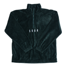 SOUR SOLUTION 1/4 ZIP FLEECE    F,GREEN