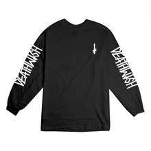 DEATH WISH LANDMARK L/S TEE       BLACK