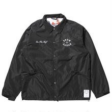 BORNXRAISED COACHES JACKET  BLACK