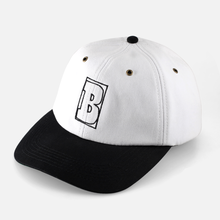 BAKER SKATEBOARDS  CAPITAL B      WHITE/BLACK