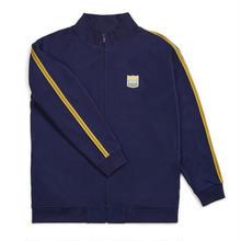BRIXTON UNITED MOCK NECK FULLZIP FLEECE-PATRIOT BLUE