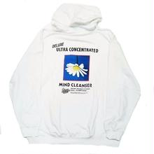 JUNGLES MIND CLEANSER HOODIE    WHITE