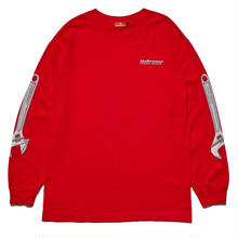 HELLRAZOR WRENCH ARM L/S TEE-RED
