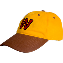 WAFFLESNCREAM TWO TONE HAT ORANGE/BROWN