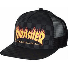 VANS X THRASHER B.B CAP     BLACK