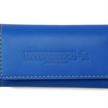 INTERBREED GENUINE LEATHER BICOLOR KEY CASE  BLUEXYELLOW