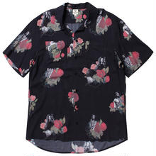 BORNXRAISED JAY HOVA BUTTON UP S/S SHIRT