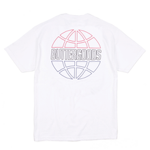 BUTTER GOODS COMMONWEALTH OUTLINE TEE    WHITE