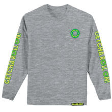 SHAKE JUNT GETCHA ROLL ON   L/S TEE   GREY