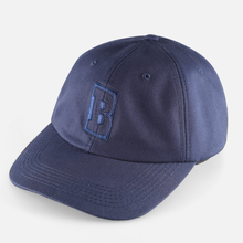 BAKER SKATEBOARDS  STRAPBACK CAPITAL B        NAVY