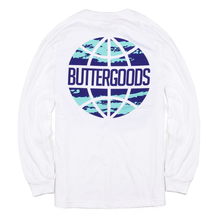 BUTTER GOODS     EXPRESS WORLDWIDE L/S TEE      WHITE