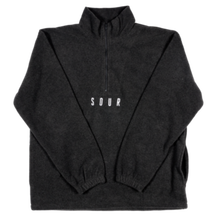 SOUR SOLUTION    QUARTER ZIP FLEECE  GRAPHITE