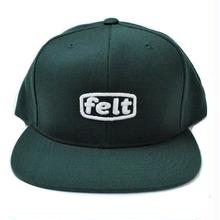 FELT PUFF WORKER CAP  GREEN